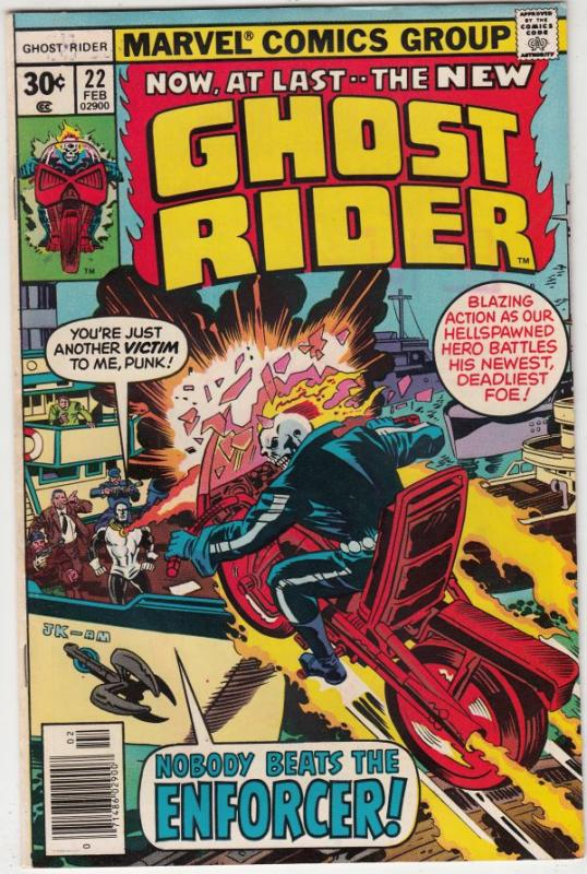 Ghost Rider, The #22 (Feb-77) NM- High-Grade Ghost Rider