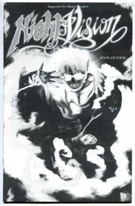 NIGHT VISION #4, NM-, David Quinn, Hannibal King, 1994, more Horror in store