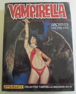 Vampirella Magazine Archives Vol 5 TPB Collects #29-35 Dynamite Comics