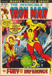 Iron Man (1st Series) #48 FN; Marvel   save on shipping - details inside