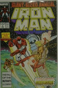 Iron Man ANN #9 DIR - 6.0 FN - 1987