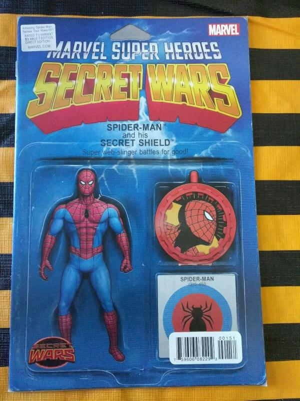 Amazing Spider-man Renew Your Vows #1 Action Figure Variant (2015)