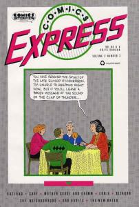 Comics Express #3 VF/NM; Eclipse | save on shipping - details inside