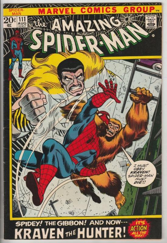 Amazing Spider-Man #111 (Aug-72) VF/NM High-Grade Spider-Man