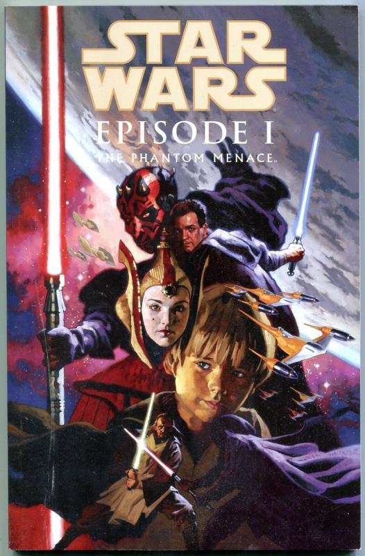 Star Wars Episode I: The Phantom Menace Trade Paperback-1st PRINT-GRAPHIC NOVEL