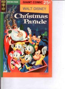 CHRISTMAS PARADE (1963 GK; WALT DISNEYS) 6 VG 36 pages COMICS BOOK