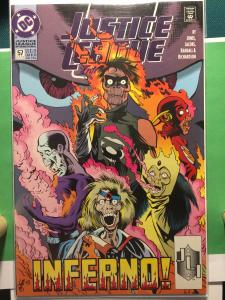 Justice League International #57 INFERNO! NM+