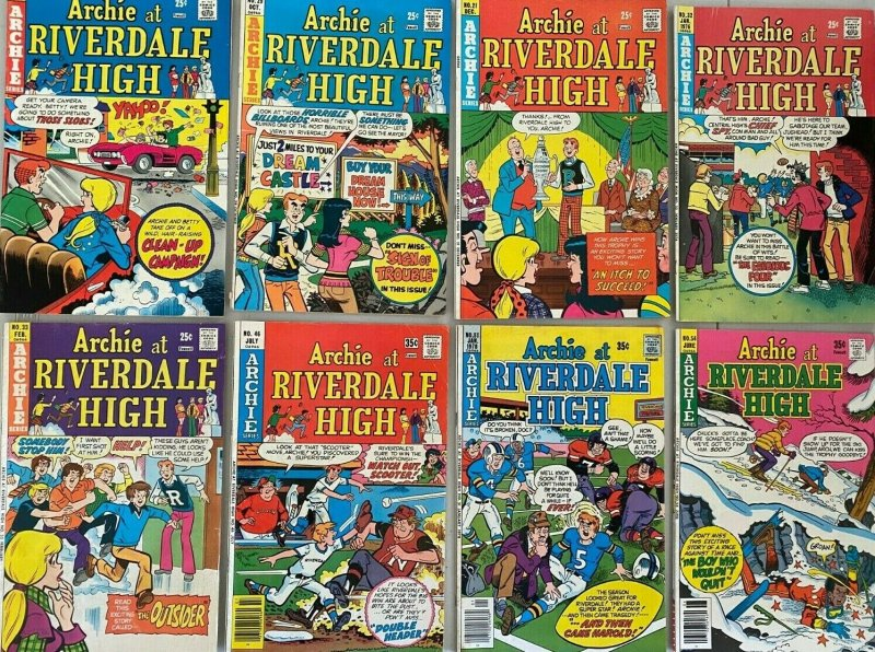 Vintage archie comic lot 50 difference