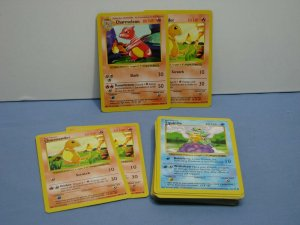 LOT Of 35 Pokemon TCG Cards Base Set SHADOWLESS RARE Squirtle Charmander