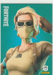 Fortnite Scorpion 138 Uncommon Outfit Panini 2019 trading card series 1