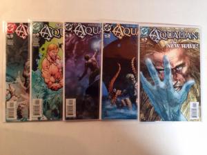 Aquaman 1-5 Near Mint Lot Set Run 2003 Veitch