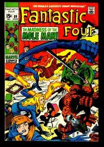 Fantastic Four #89 VF 8.0
