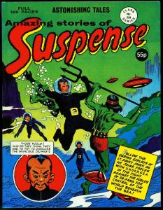 AMAZING STORIES OF SUSPENSE #233-JACK KIRBY ART-GREAT VF/NM