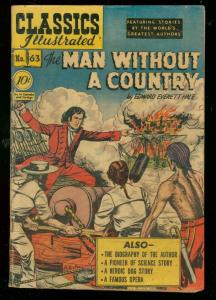 CLASSICS ILLUSTRATED #63 HRN 62-MAN WITHOUT COUNTRY-1ST VG