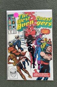 West Coast Avengers #37 (1988)