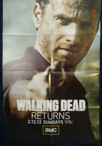 WALKING DEAD RETURNS Promo Poster, 24 x 36, 2012, AMC Unused more in our store 4