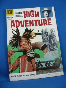 Four Color 1001 HIGH ADVENTURE VF- Photo Cover 1959