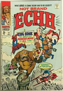 NOT BRAND ECHH#11  FN/VF 1968 MARVEL SILVER AGE  COMICS