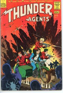 THUNDER Agents 11  VG  1967