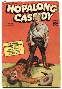 Hopalong Cassidy #24 1948- Fawcett Western -coupon out