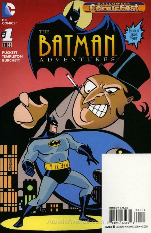 Batman Adventures, The #1 (2nd) VF; DC | save on shipping - details inside