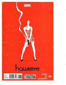 4 Hawkeye Marvel Comic Books # 8 9 13 22 Matt Fraction Aja Wu Hollingsworth WM7