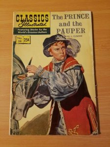 Classics Illustrated #29 - The Prince and the Pauper ~ FINE FN ~ 1968 HRN 166