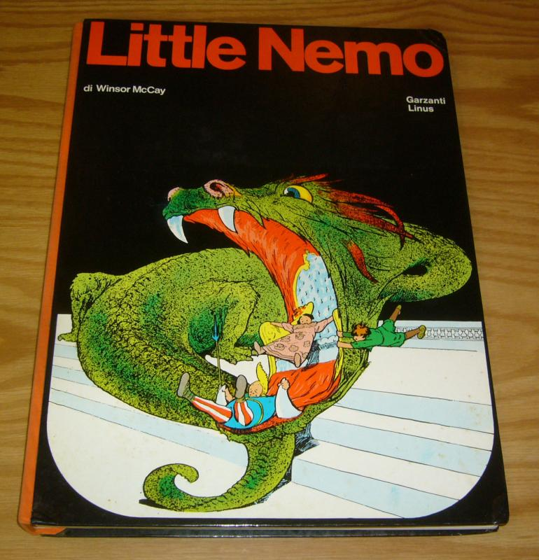 Little Nemo in Slumberland: 1905-1906 HC VF- italian hardcover import 1969