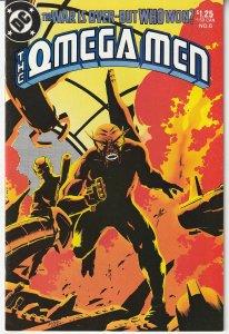 Omega Men(vol. 1) # 6  Last Stand against The Citadel !