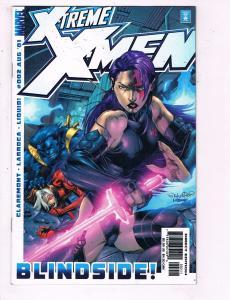 Xtreme X-Men #2 VF Marvel Blindside Comic Book Beast Rogue DE9