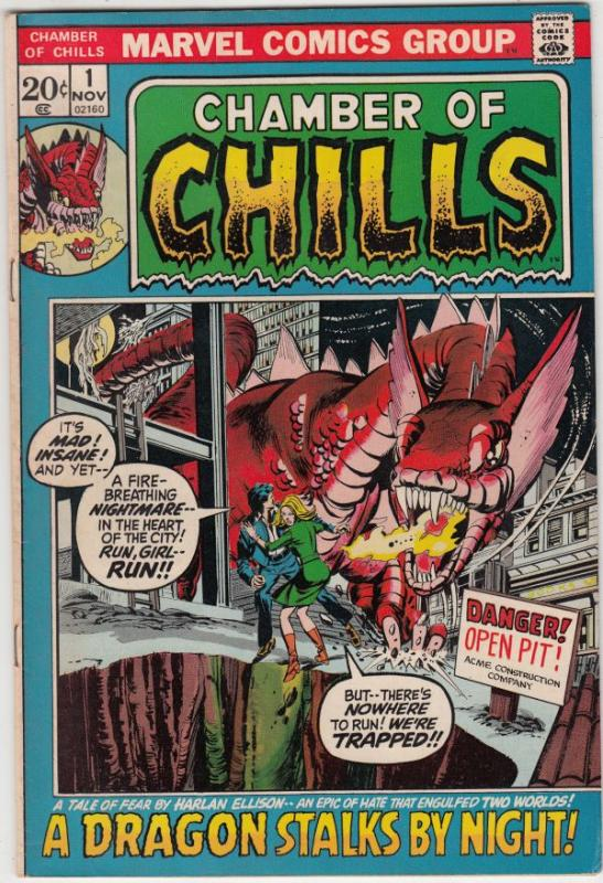 Chamber of Chills #1 (Nov-72) NM- High-Grade