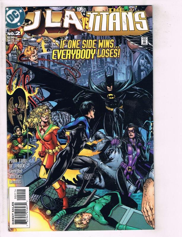 JLA The Titans Complete DC Comics Ltd Series # 1 2 3 Robin Nightwing Flash J119