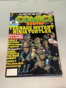 Comics Scene 13 FN/VF TMNT Covers