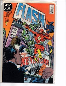 DC Comics Flash #32 Flash Moves to Keystone City Pied Piper