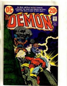 The Demon # 5 VF DC Comic Book Jack Kirby Bronze Age Etrigan Fourth World RS1
