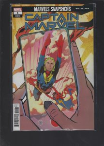 Marvel Snapshots Captain Marvel #1 Variant