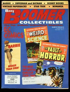 BABY BOOMER COLLECTIBLES 1994-#6-E.C. COMICS-BARBIE FN