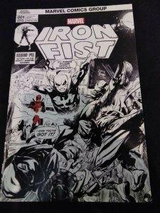 Iron Fist #1 Ryan Stegman Deadpool Sketch Variant 2017 Hall of Comics Exclusive