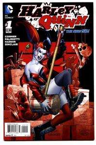 HARLEY QUINN #1 5th printing 2014 DC New 52-Suicide Squad-NM-