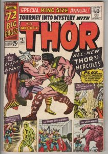 Journey Into Mystery King-Size Special #1 (Jan-65) VF High-Grade Thor