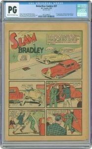 Detective Comics #27 Page 28 ONLY CGC PG CR/OW Slam Bradley 1st Page! Batman