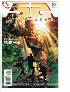 52 #9 FN 1st appearance Batwoman (Kathy Kane) DC 2006