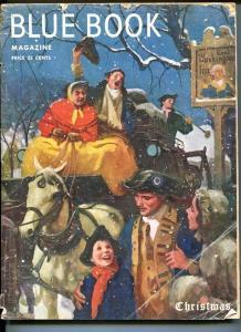 BLUE BOOK PULP-DECEMBER 1950-FR/G-BOWER COVER-FRANCINE-SINGER-GRESHAM-CHRI FR/G
