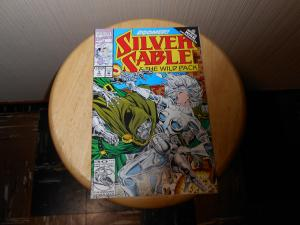 Silver Sable and the Wild Pack (1992) #5 Oct 1992 Cover price $1.25