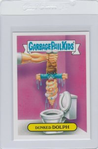 Garbage Pail Kids Dunked Dolph 3a GPK 2016 American As Apple Pie In Your Face