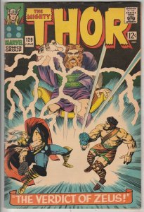 Thor, the Mighty #129 (Jun-68) FN/VF Mid-High-Grade Thor, Hercules