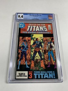 Tales Of The Teen Titans 44 Cgc 9.4 White Pages 1st Nightwing Dc Comics