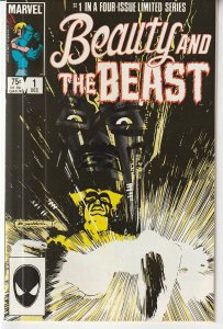Beauty and The Beast(Marvel) # 1  X-Man/Avenger The Beast and Dazzler in Love