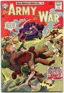 OUR ARMY AT WAR #143 1964-D.C. WAR SILVER-AGE-SGT. ROCK- VG/FN