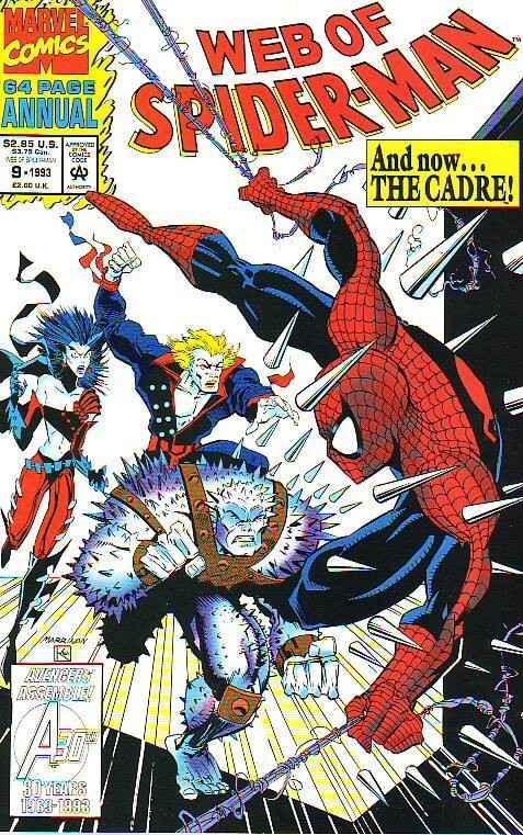 Spider-Man, Web of Annual #9 (Jan-93) NM Super-High-Grade Spider-Man